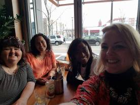 4.2.2017 U & I Reconnect Dinner _Kim, Tiffany, Me, Melissa